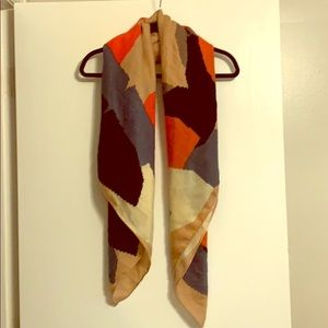 Urban outfitters Soft multicolored scarf/wrap